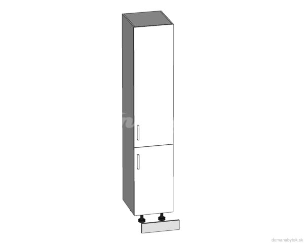 D-40/207 dolná skrinka vysoká P / P - L / L kuchyne Tapo