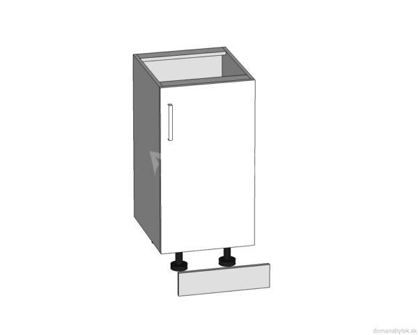 D-40/82 dolná skrinka P / L kuchyne Plate