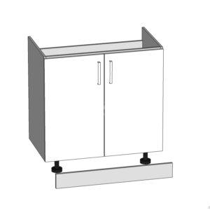 DK-80/82-L / P dolná skrinka pod drez kuchyne Plate