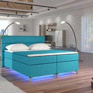 Boxspring posteľ AMADEO 140 x 200