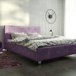 Čalúnená manželská posteľ Melany
