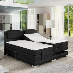 Boxspring posteľ WAVE 140 x 200 + elektrická regulácia výšky