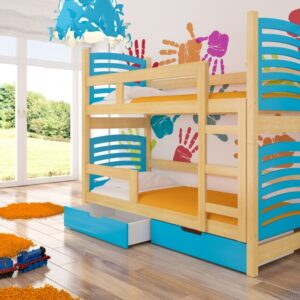 Detská poschodová posteľ OSUNA