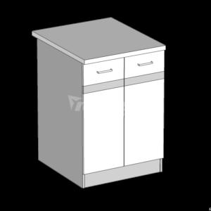 Dolná skrinka 60 kuchyňa Eliza (EZ14 / D60)