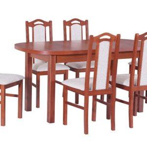 Drevený jedálenský set 6 + 1 Alvita