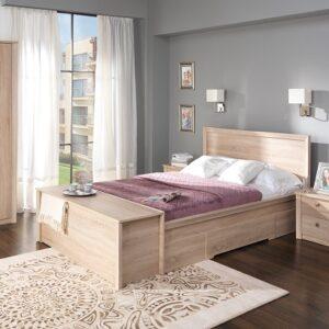 Fiona posteľ 180 s šuplíky