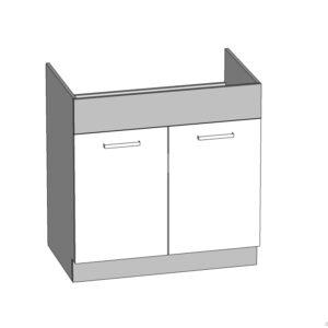 Spodná drezová skrinka 80 kuchyňa Modena MD19-D80Z