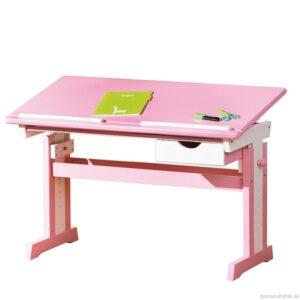 Cecilia - písací stôl ružovo / biely