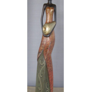 Drevorezba - Lady 80cm