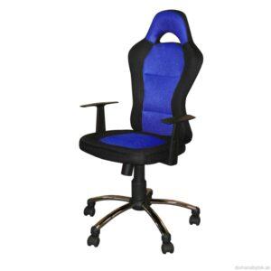 Kancelárske kreslo CESAR modré