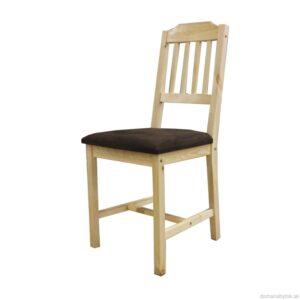 Polstrovaná jedálenská stolička