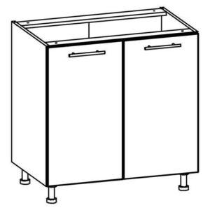 2-dverová dolná skrinka l / p 80 tiffany