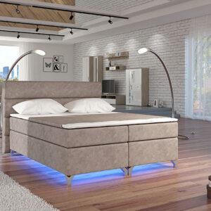 Boxspring posteľ AMADEO 160 x 200
