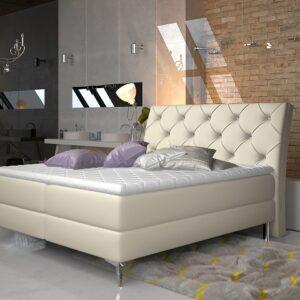 Čalúnená manželská posteľ Adel 160x200