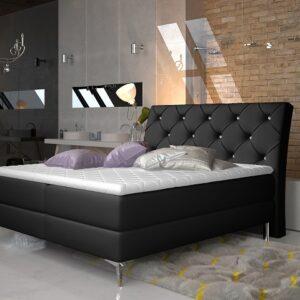 Čalúnená manželská posteľ Adel 180x200