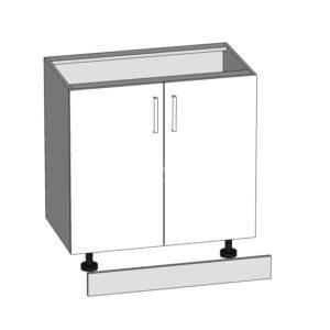 D-80/82 dolná skrinka L / P kuchyne Domin