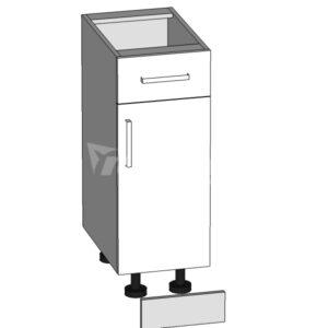 D1S-30/82 dolná skrinka s zásuvkou P / S - L / S kuchyne Domin