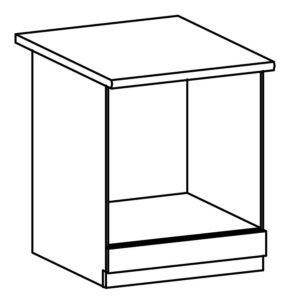 D60ZK dolná skrinka kuchyňa Linea