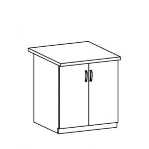 D80 dolná skrinka kuchyňa Linea