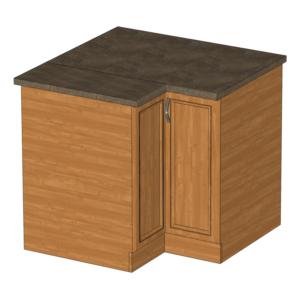 D90N dolná rohová skrinka kuchyňa Sycylia