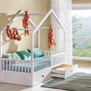 Detská jednolôžková posteľ Insert - masív