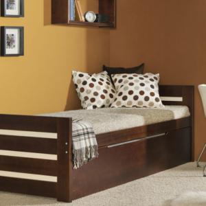 Detská posteľ s prístelkou Vernole - masív