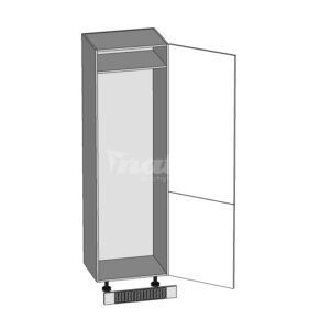 DL-60/207-P / P dolná skrinka pre vstavané spotrebiče kuchyne Hamper