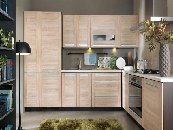 DL-60/207-P / P dolná skrinka pre vstavané spotrebiče kuchyne Pesen