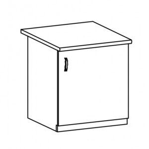 Dolná skrinka D60 (P / L) Langen