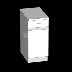 Dolná skrinka LP 40S1 kuchyňa Eliza (EZ11 / D40S1)