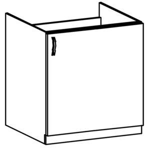 Dolné drezová skrinka D60Z (P / L) Langen