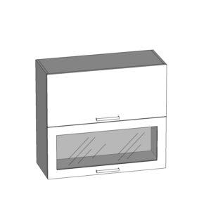 G2O-80/72-OV-O horná skrinka s výklopnými dvierkami kuchyne Plate