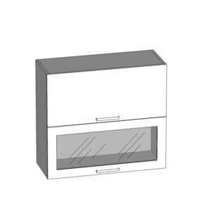 G2O-80/72-OV-O horná skrinka s výklopnými dvierkami kuchyne Tafne