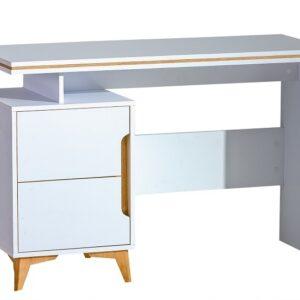 Gappa písací stôl GA12 horský jaseň / biela briliantová