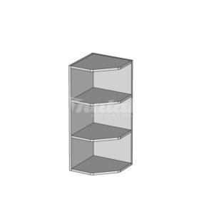 GNZ-30/72 horná rohová skrinka vonkajšia kuchyne Pesen