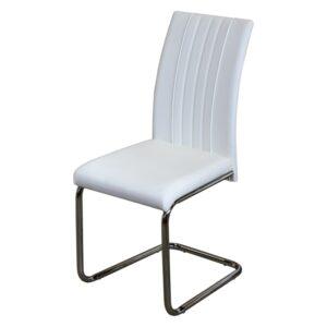 Jedálenská stolička SWING biela