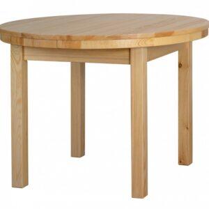 Jedálenský stôl okrúhly rozkladací Cejlón