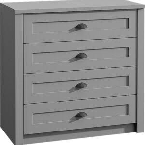 Komoda K4 Provence - grey