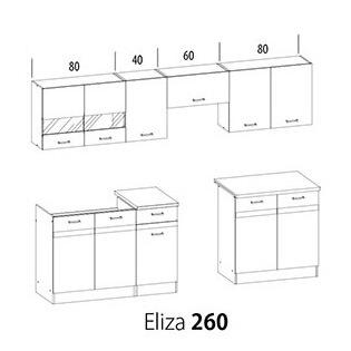 Kuchynská linka Eliza 260
