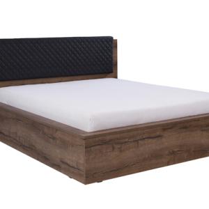 Manželská posteľ s úložným priestorom Astor Dub monastery