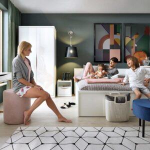 Moderná spálňa Pori