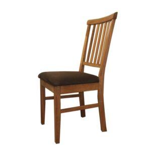 Polstrovaná stolička dub
