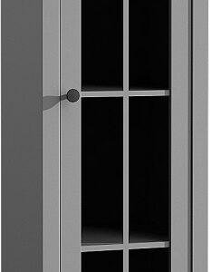 Presklená vitrína W1S Provence - grey