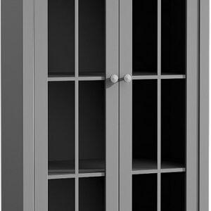 Presklená vitrína W2S Provence - grey