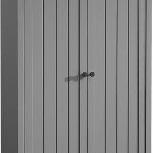 šatníková skriňa S2D Provence - grey