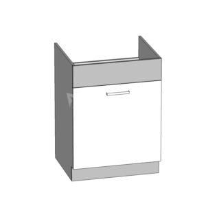 Spodná drezová skrinka 60 kuchyňa Modena MD18-D60Z