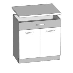 Spodná skrinka 80 kuchyňa Modena MD20-D80S1