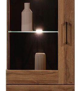 Úzka presklená vitrína Ivo 6 (ľavá)