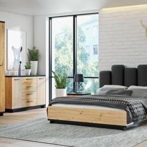 Zostava nábytku pre malé spálne Maurícius