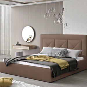Čalúnená manželská posteľ Clementina 160x200